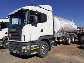 Scania R500 Rigid Fuel Tanker for sale