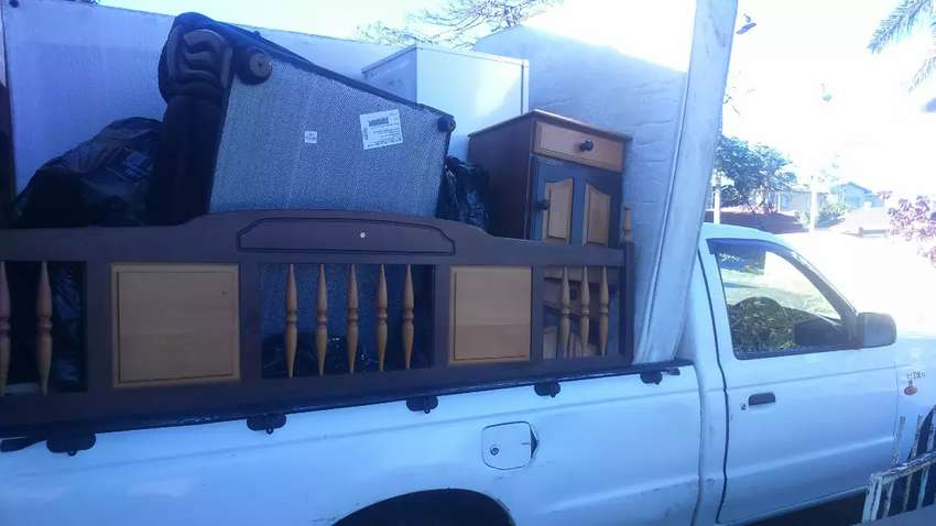 Bakkie for hire and removals 0
