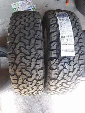 245/65 17 two brand new BF Goodrich tyres