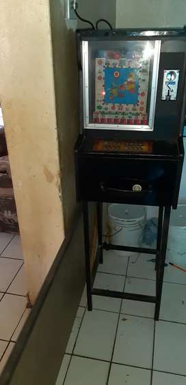 Gamble machine to swop