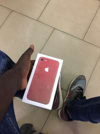 Image of red IPhone 7