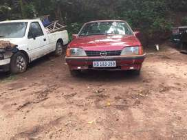 Opel Rekord striping for spares