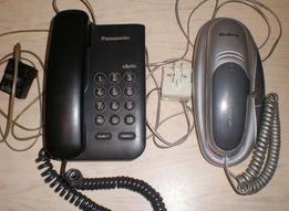 Телефон, стационарный, проводной, Panasonic.
