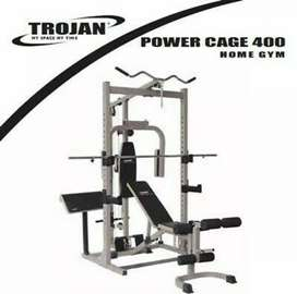 Trojan Powercage 400 Reduced R4500 including 40-50kg weights