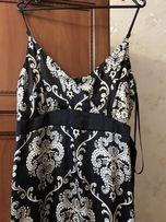 Продам красивое атласное платья