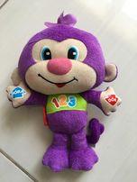 Grająca małpka Fischer Price