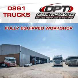 Truck Repairs, Towing, Recoveries