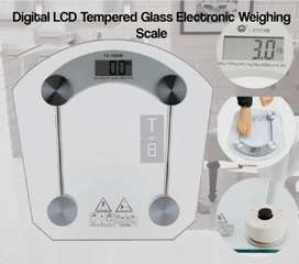 Electronic Glass Scale - Bathroom Weight Scale (Brand New)
