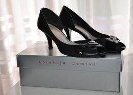 Czółenka damskie, buty na obcasie - KOTYL rozmiar 39