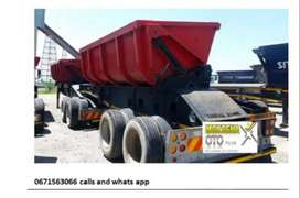Side tipper trailer RENT