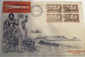 Union festival first day cover 1910 to 1960