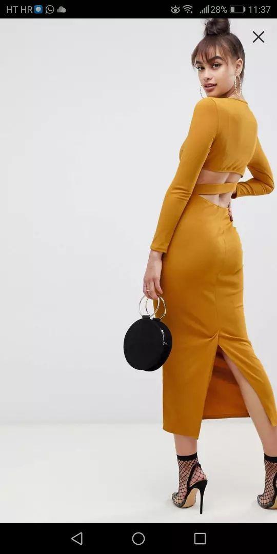Dress by ASOS DESIGN • •Open back  0