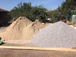 Щебень, песок, отсев, бут, шлак, глина, чернозем, мусоровывоз.