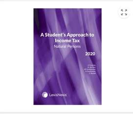 A students approach to income tax individuals 2020