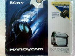 Продам видеокамеру Sony DCR-DVD610E