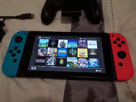 Nintendo switch with 20 games (LAST CHANCE LOCKDOWN)