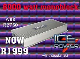 Car amplifier monoblock Ice power