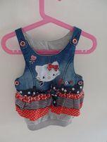 Sukienka -tunika dla dziewczynki Hello Kitty 1-3 lat