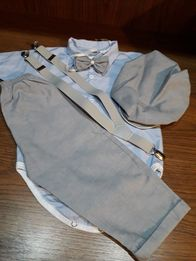 Komplecik na roczek stan idealny ze sweterkiem