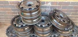 Original Steel rims for VW Polo's size R14