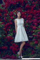 Suknia ślubna i żakiet firmy Cameoo