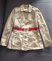 Airfield плащ жакет куртка плащик на весну лето бежевый пальто
