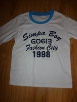 Одежда для мальчика футболка с рукавами
