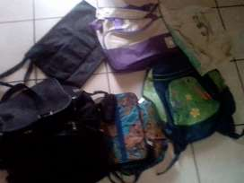 Bags and backpack for sale R50 each