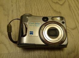 Цифровой фотоаппарат sony cyber shot dsc-s60 б.у. под ремонт