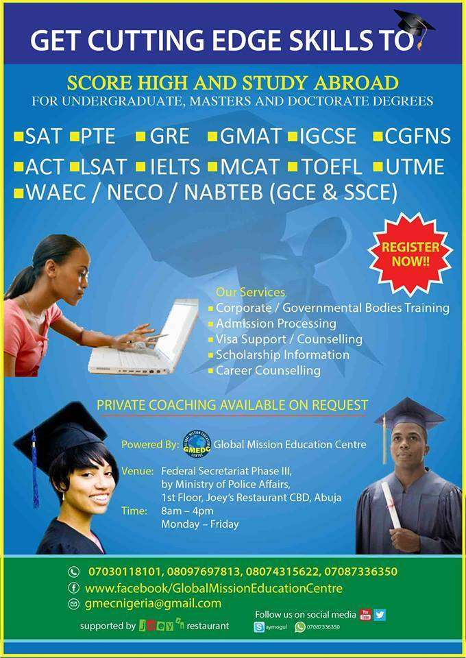 2019 WAEC/NECO/NABTEB AND JAMB lesson in Maitama 0