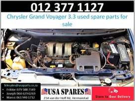 Chrysler Grand Voyager 3.3* 1999-03 used engine spare parts for sale