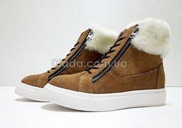 АКЦИЯ! UGG Australia оригинал ботинки! Угги натуральные, танкетка