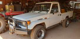 Toyota Land Cruiser 4x4 Series 79. Excellent condition.
