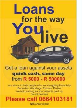 Loans for the way you live