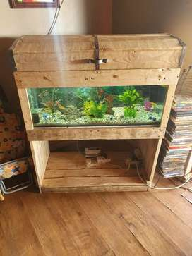 Fish tank stand