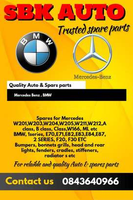 For all your BMW and Mercedes Spares
