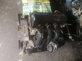 Jeep Cherokee 3.7 petrol engine stripping for spares R100