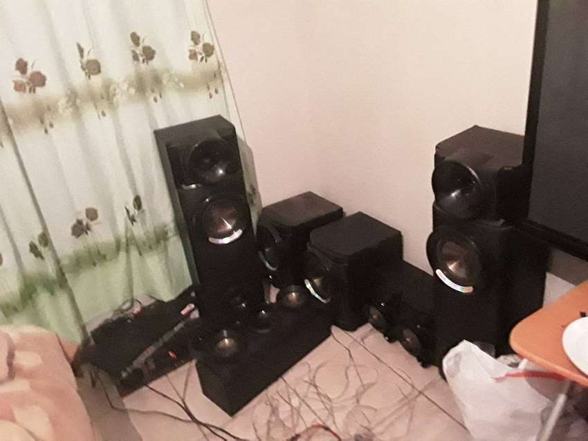 Lg sound system and tv 0