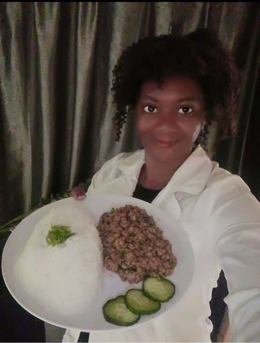 Malawian chef and domestic worker