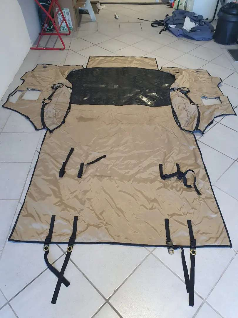 Toyota Fortuner canvass interior protector