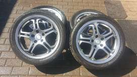 Rims for sale PCD 5x108 (Ford Focus)