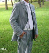 Свадебный мужской костюм. Галстук-в подарок!