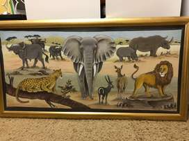 Wildlife Art Piece