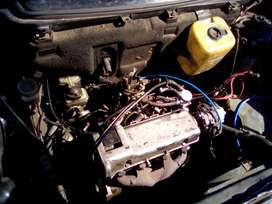 Fiat Uno stripping for parts.
