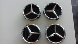 Dekielki do felg aluminiowych mercedes nowy model 75mm