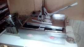 Chips frier and cutter
