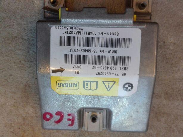 Bmw e60 e61 sensor modul komputer Airbag poduszek z auta bezwypadkoweg Wrocław - image 1