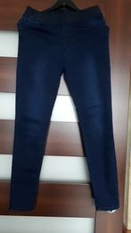 Spodnie jeansowe, jegginsy 38/40. Nowe, bez metki.