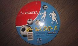 Диски Ridata DVD-R 8X-16X 4.7GB 10 шт.