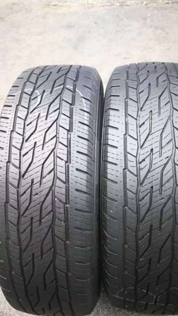2×225/65/17 Continental tyres for sale